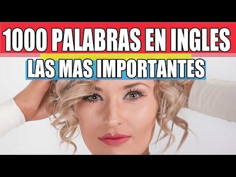 1000 de las Palabras Más Importantes para Saber en Inglés para Principiantes - Inglés Americano