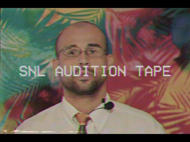 SNL Audition Tape 2018: Rob Moccio Impersonates Steve Harvey, Jack Nicholson, Fonzie, Louis CK