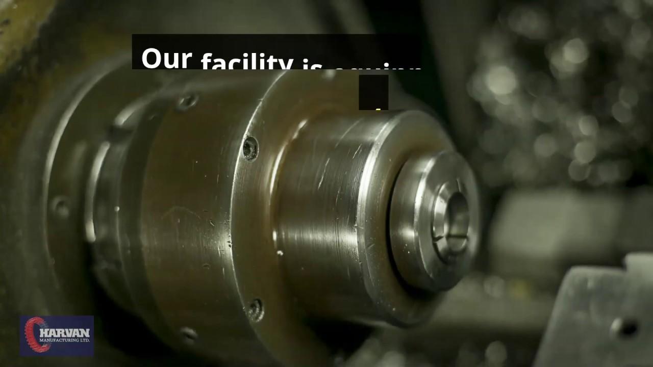Custom Precision Machining - Harvan Manufacturing Ltd