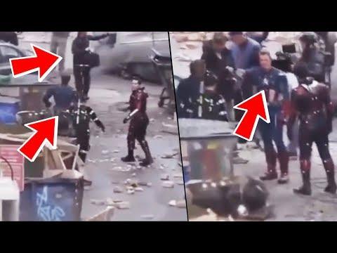 Avengers 4 LEAKED VIDEO FOOTAGE Revealed! Tony Stark Gathering The Infinity Stones?!