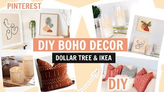 Diy Boho Home Decor Using Dollar Tree And Ikea Materials Pinterest Home Decor Ideas