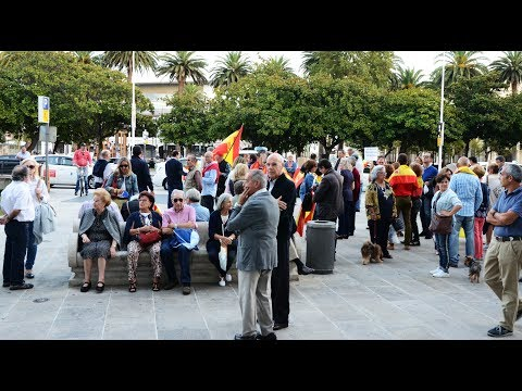 Concentración españolista na Coruña (28.09.2017)