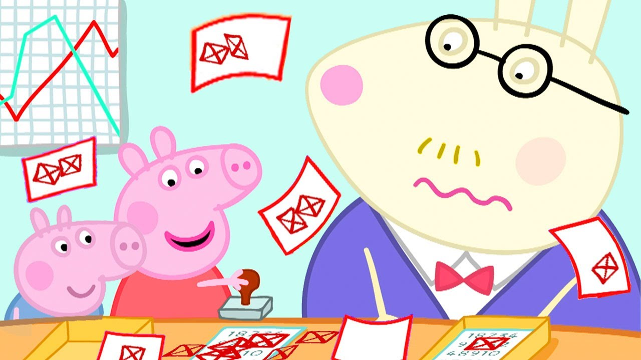 Download Peppa Pig Official Channel | Peppa Pig Goes to Daddy Pig's Office for a Day