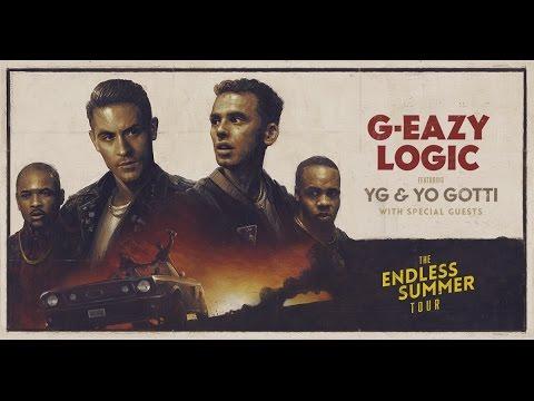 Logic & G-Eazy - The Endless Summer Tour FULL CONCERT  - Sacramento, California