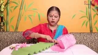 Eco-friendly Ganpati Decoration - Lotus Asan