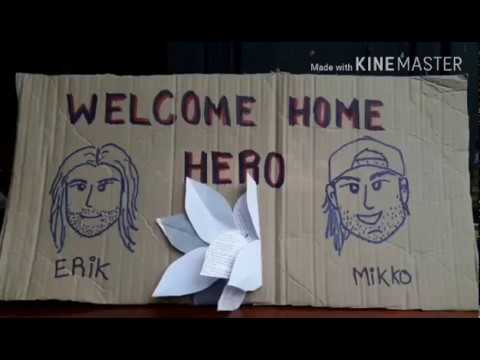 Welcome home Hero | MMikko Paasi & Erik Brown | Divers & Rescues Team