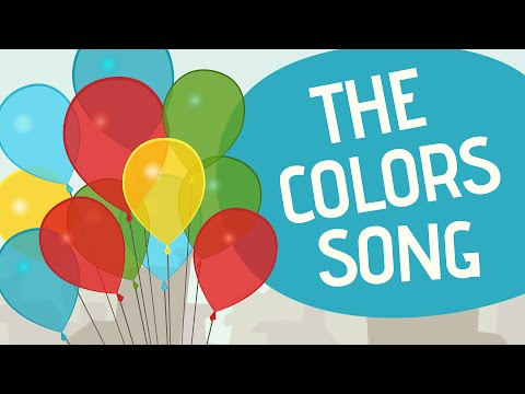 The Colors Song - Nursery Rhymes - Toobys