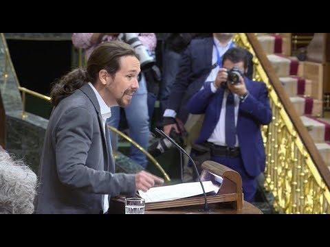 """Pablo Iglesias: """"Deje de romper España, señor Rajoy"""""""