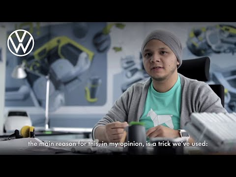 Interview with the designers of the Volkswagen up!