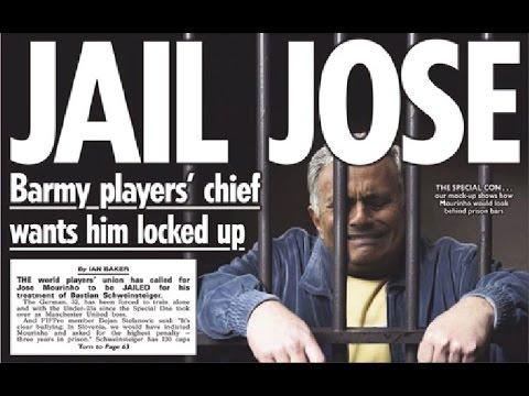 Un dirigeant veut envoyer Mourinho en prison ! (Revue de presse)