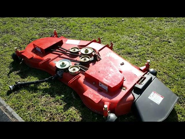 RK24 tractor 60 Mower Deck, (part one)