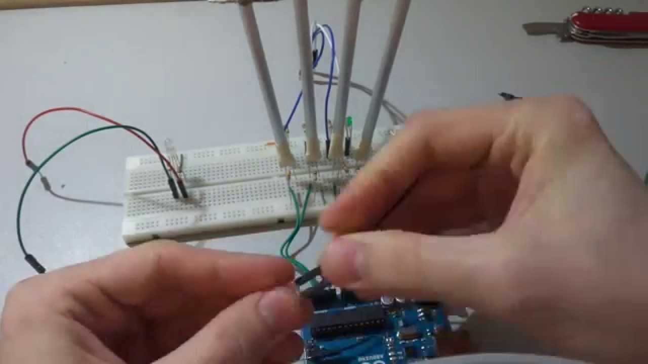 Ldr Buzzer Game Tutorial Part 1 Circuit Assemblage Prototype Photoresistor For Beginners In Electronics Youtube Premium