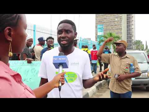 Eco Bank Sacked-workers Protest