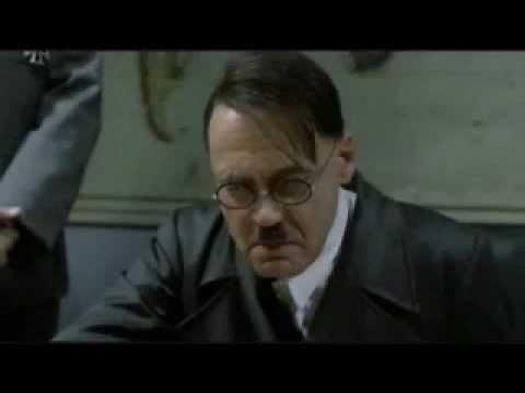 Hitler viene a sapere della fuga di Schettino Dalla Costa Concordia (Parodia)