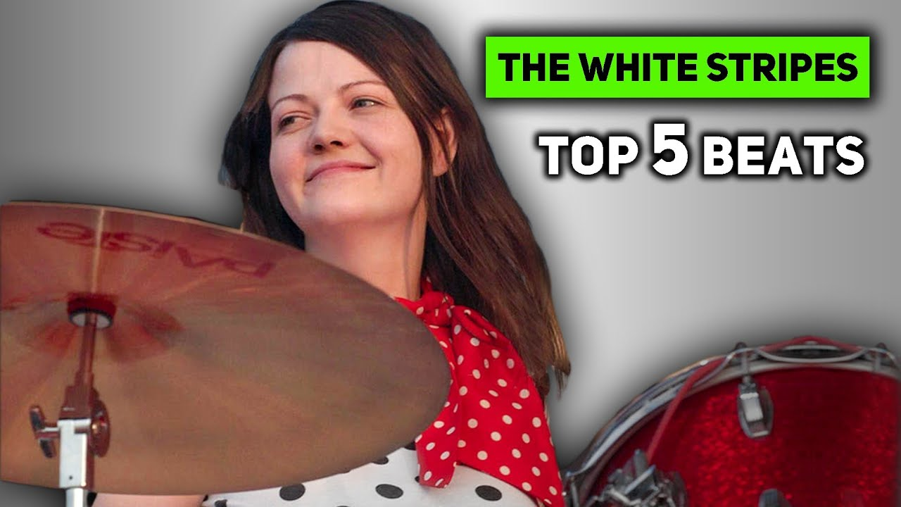 TOP 5 MEG WHITE DRUM BEATS OF ALL TIME - YouTube