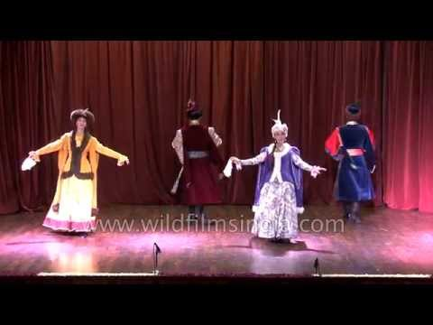 Russian Baroque Dance by Romana Agnel