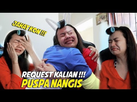REQUEST DARI KALIAN !!! PRANK PUSPA SAMPAI NANGIS :( KASIAN GUYS ...