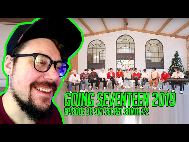 Mikey Reacts to GOING SEVENTEEN 2019 EP.26 SVT SECRET SANTA #2