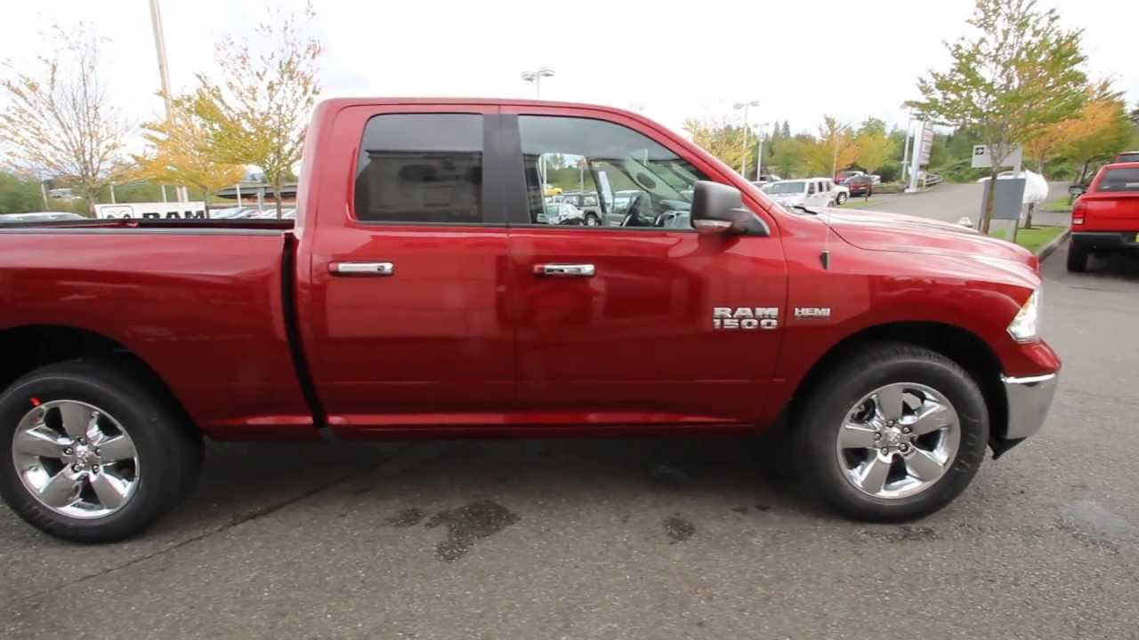 Es136006 2014 Dodge Ram 1500 Big Horn Quad Cab