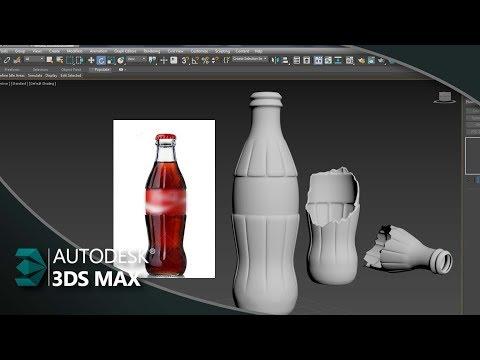 Como Modelar uma Garrafa de Vidro no 3ds Max