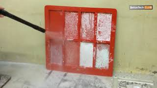 Мытый бетон фасадная плитка