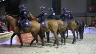 Demo police montee - Salon du Cheval 2011
