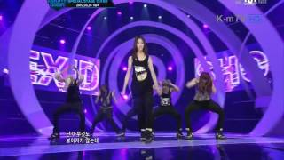 [12.03.02] EXID - Shock (BEAST) (Special Stage) @ Mnet MCount Down