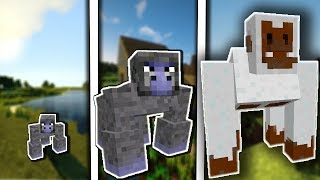 NẾU CON KHỈ CÓ CUỘC SỐNG TRONG MCPE | Cuộc Sống Minecraft PE