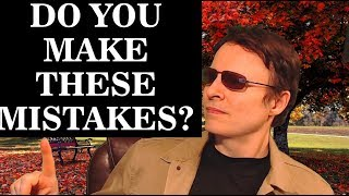 OMG! Do you make these mistakes? 🙊🙊🙊🙊🙊| Learn English Live 51 with Steve Ford |