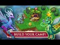 Kids Playing Game Dragons - Baby Play And Learn Colors Merge Dragons | Kids Plays Colors