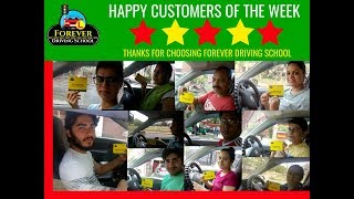 Happy Customer of The Week Forever Driving School (21-July-2018)