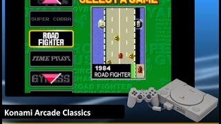 Konami Arcade Classics [PS1] - Playable gameplay ePSXe 2.0.5