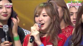 [ENG SUB] 150916 Red Velvet 'DUMB DUMB' 2nd WIN
