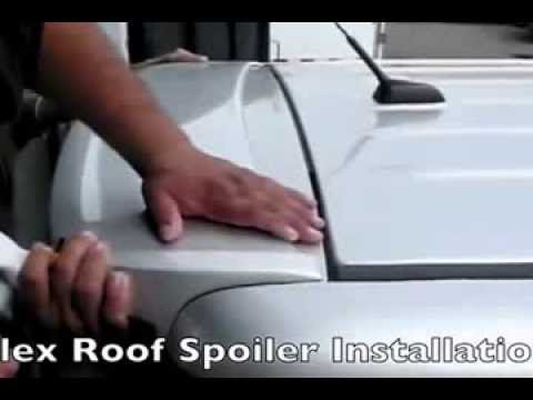 3dcarbon 2009 Ford Flex Spoiler Installation Video Youtube