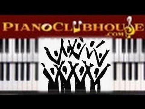 7 3 6 Chord Progression In Key Of C Easy Gospel Piano Tutorial