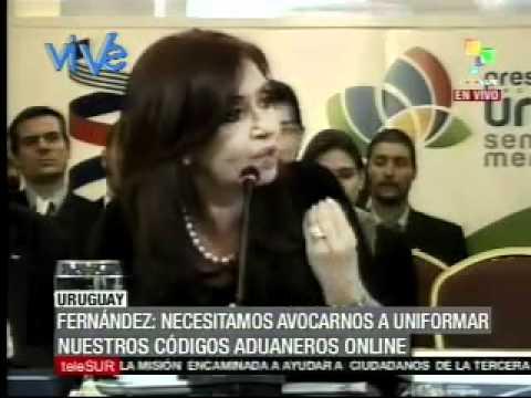 Cristina Fernández: Trabajaremos para los pueblos
