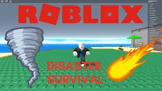 Lets Play ROBLOX Disaster Survival! Best Roblox Game?? So FUN!