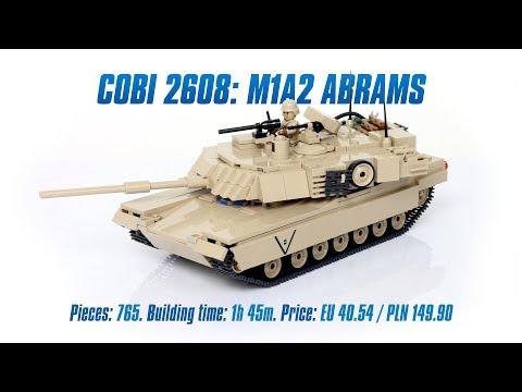[COBI 2608] M1A2 Abrams review & speed build