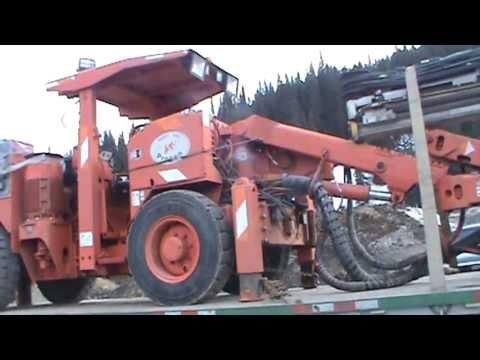 Tamrock Diesel/electric Underground Rock Drill - Procon Mining Ltd.  Unit - Brucejack Mine