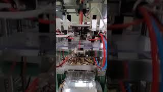 액상 스틱 포장기계 작동영상입니다.