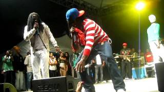 I Octane,Khago and Teflon Performing together at St. Mary mi come from 2011