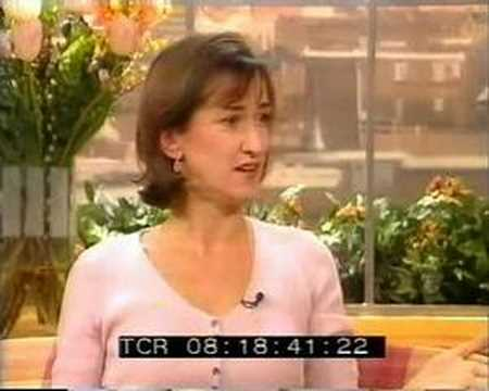 Haydn Gwynne on GMTV