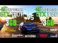 GTX 780 Ti 3GB vs GTX 1060 3GB Test in 8 Games