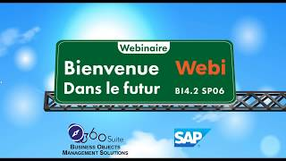 L'avenir de SAP BusinessObjects Web Intelligence - BI4 2 SP06 et dernières versions