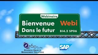 L'avenir de SAP BusinessObjects Web Intelligence - BI4 2 SP06 et dernières versions