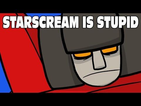 Cartoon - I think Starscream Gets Stupider Every Year
