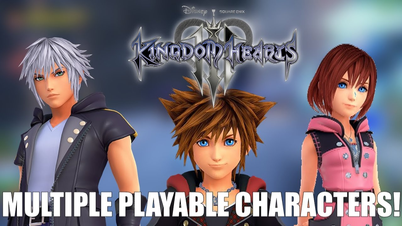 Multiple Playable Characters In Kingdom Hearts 3 Confirmed!