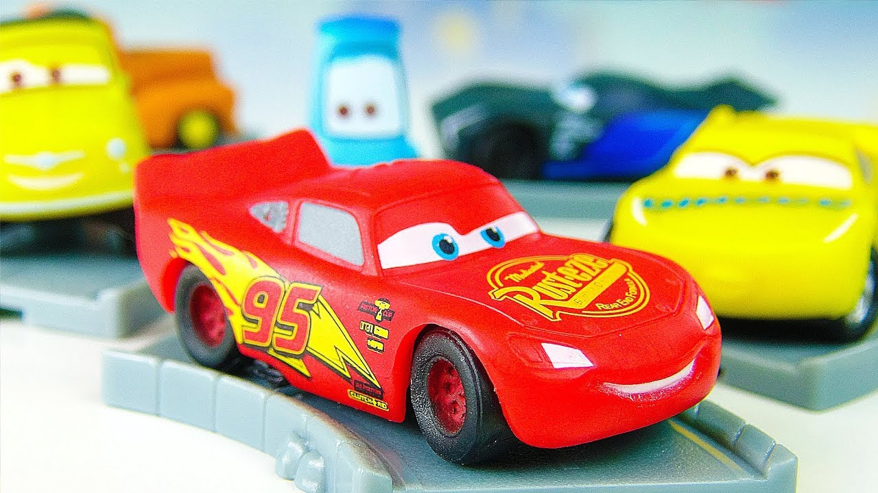 Car Toys Color : Cars lightning mcqueen learn colors with for kids