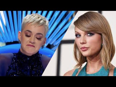 Katy Perry SHADES Taylor Swift On American Idol!