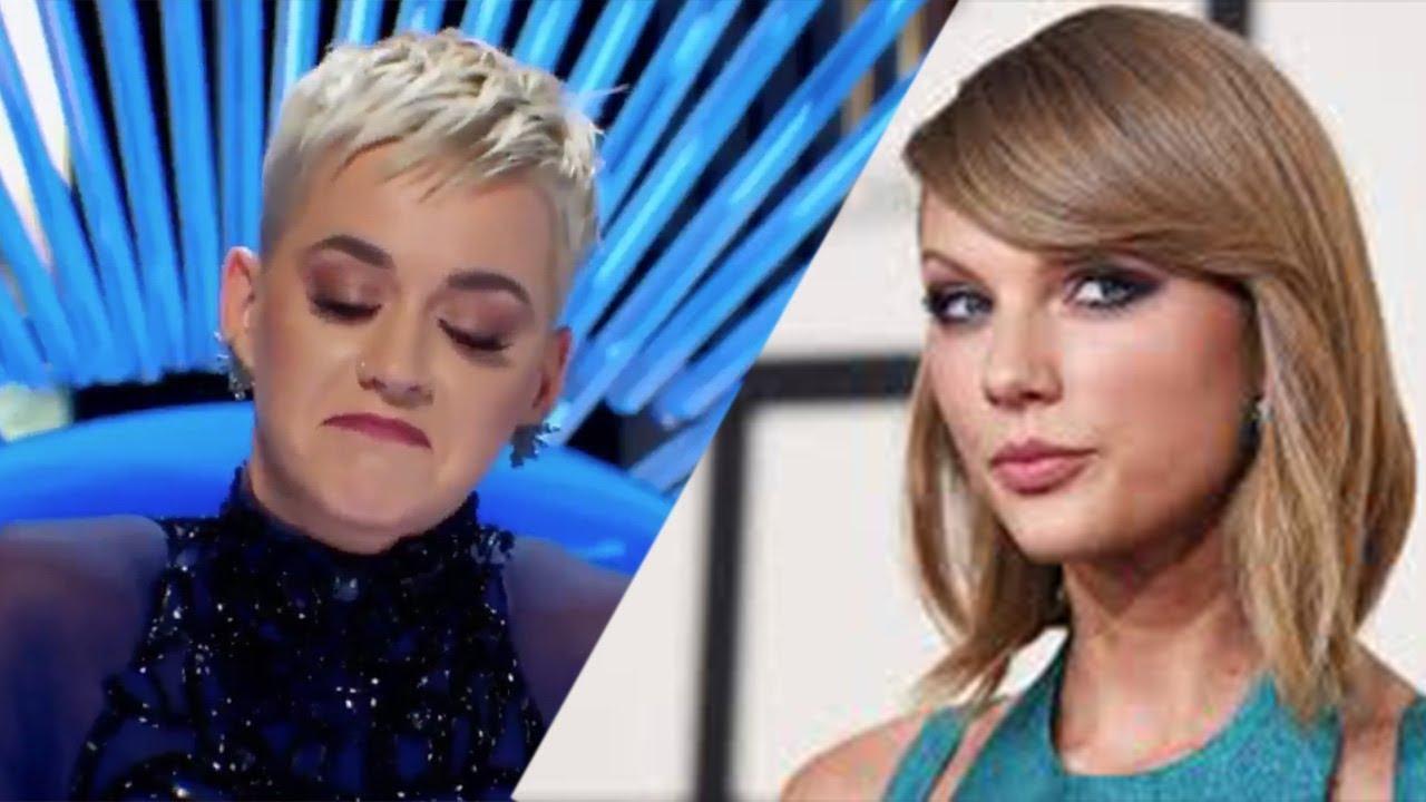 Katy Perry Shades Taylor Swift On American Idol Youtube